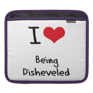 Amo el Disheveled Funda Para iPads
