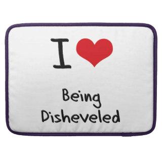 Amo el Disheveled Funda Para Macbooks