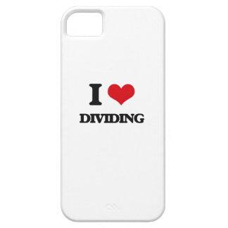 Amo el dividir iPhone 5 funda