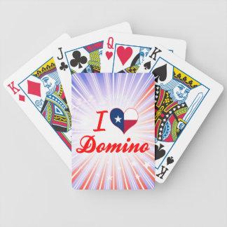 Amo el dominó, Tejas Cartas De Juego