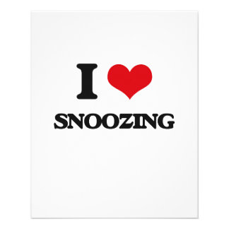 Amo el dormitar tarjeta publicitaria