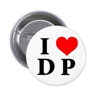 Amo el DP Pin Redondo 5 Cm