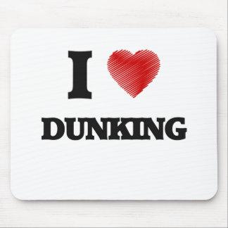 Amo el Dunking Tapetes De Raton