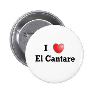 Amo el EL Cantare Pin Redondo 5 Cm