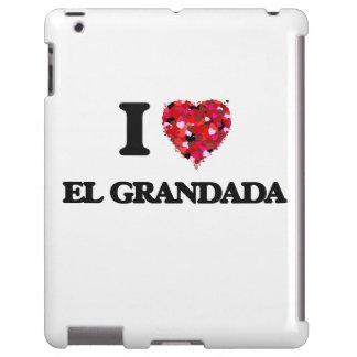 Amo el EL Grandada California Funda Para iPad