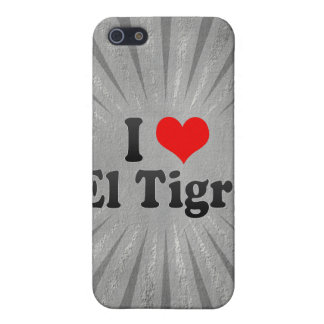 Amo el EL Tigre, Venezuela iPhone 5 Carcasas