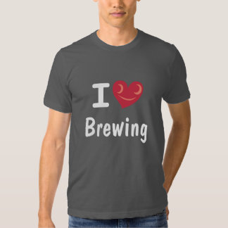 Amo el elaborar cerveza de la camisa de Homebrewer
