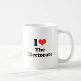 AMO el ELECTORATE.png Taza De Café