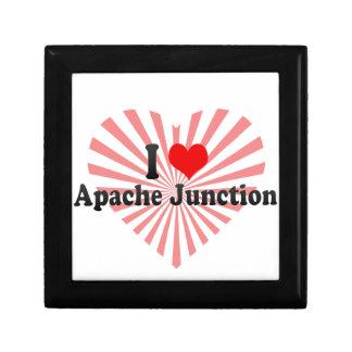 Amo el empalme de Apache, Estados Unidos Caja De Joyas