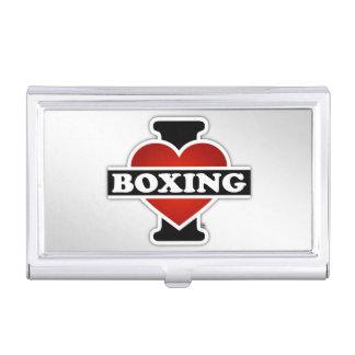 Amo el encajonar cajas de tarjetas de negocios