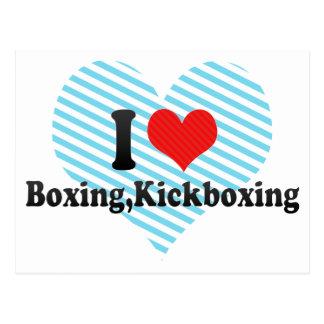 Amo el encajonar, Kickboxing Postales