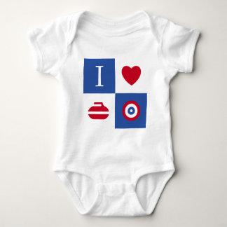 Amo el encresparme body para bebé