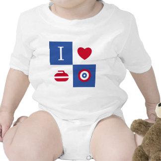 Amo el encresparme trajes de bebé