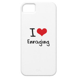 Amo el enfurecer iPhone 5 cárcasa