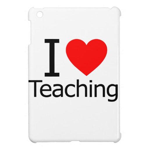 Amo el enseñar