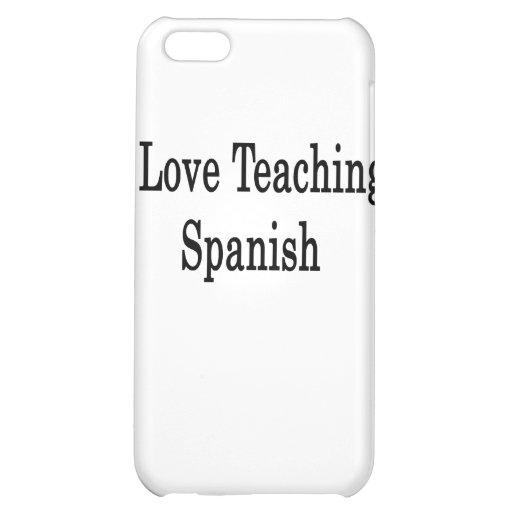 Amo el enseñar de español