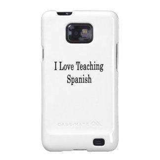 Amo el enseñar de español galaxy s2 funda