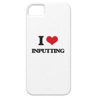 Amo el entrar iPhone 5 fundas