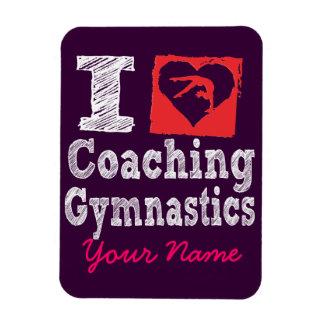 Amo el entrenar de los imanes de la gimnasia