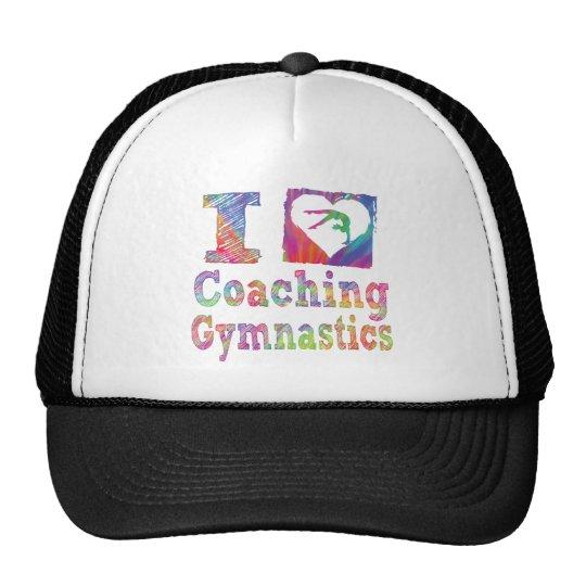 Amo el entrenar del camisetas de las mujeres de la gorra