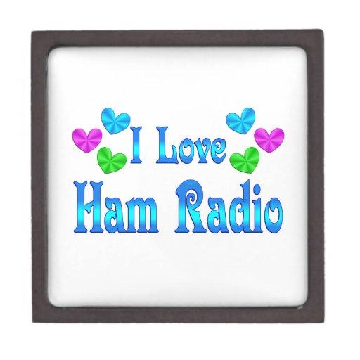 Amo el equipo de radio-aficionado caja de regalo de calidad