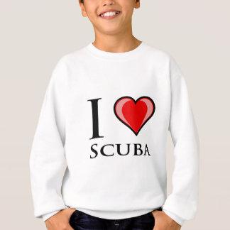 Amo el equipo de submarinismo playeras