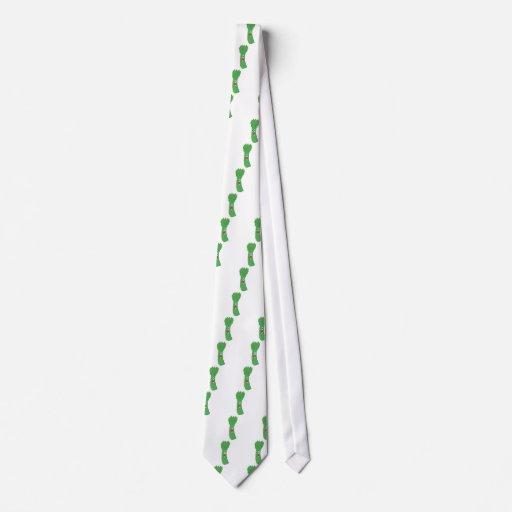 Amo el espárrago corbatas