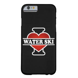 Amo el esquí acuático funda de iPhone 6 barely there