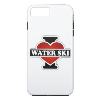 Amo el esquí acuático funda iPhone 7 plus