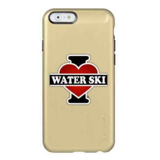 Amo el esquí acuático funda para iPhone 6 plus incipio feather shine