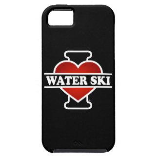 Amo el esquí acuático iPhone 5 funda