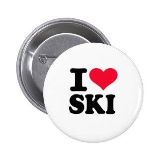 Amo el esquí pins