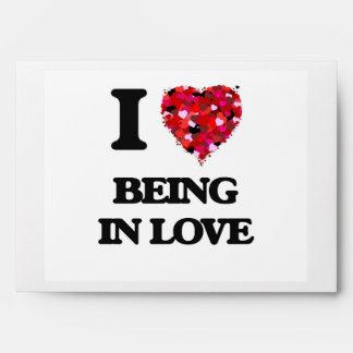 Amo el estar en amor sobre