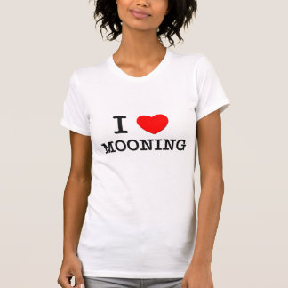 Amo el estar en la luna camisetas