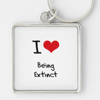 Amo el estar extinto llavero