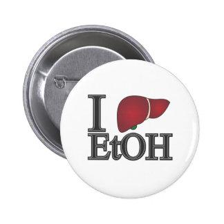 Amo el etanol pin