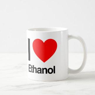 amo el etanol taza