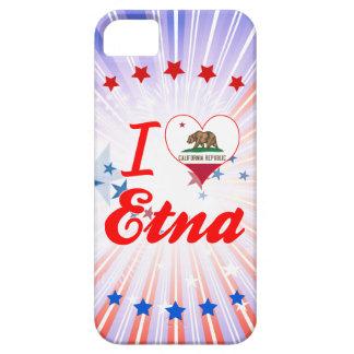 Amo el Etna, California Funda Para iPhone 5 Barely There
