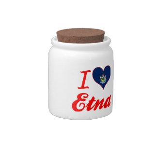 Amo el Etna, Maine Platos Para Caramelos