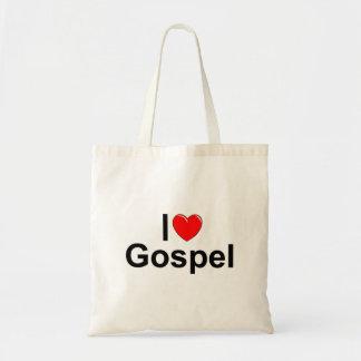 Amo el evangelio (del corazón) bolsa