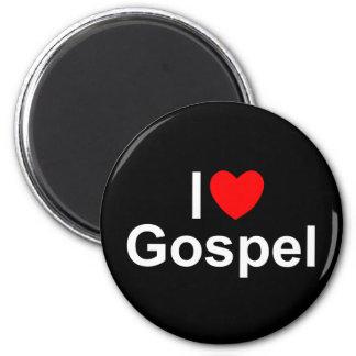 Amo el evangelio (del corazón) imán de frigorifico