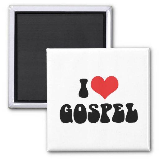 Amo el evangelio imán
