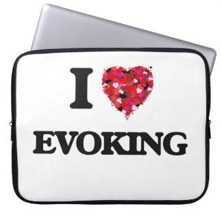 Amo el EVOCAR Fundas Computadoras