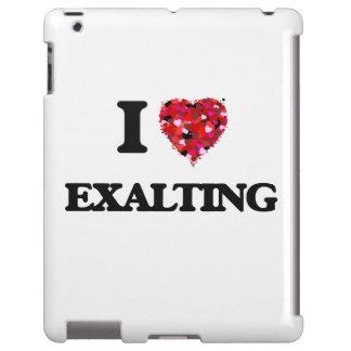 Amo el EXALTAR Funda Para iPad