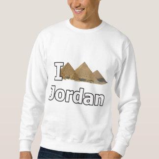 Amo el fall turístico de Jordania Sudadera