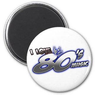 Amo el fan de música de los años 80 de la MÚSICA d Imán De Nevera