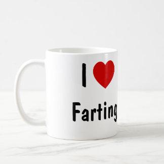 Amo el Farting Taza