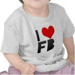 Amo el FB Camisetas