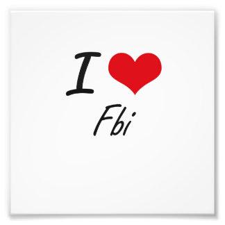 Amo el Fbi Cojinete