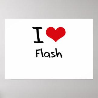 Amo el flash posters